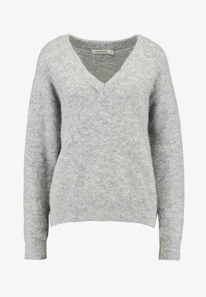 JUMPER TEKLA - Stickad tröja - grey melange