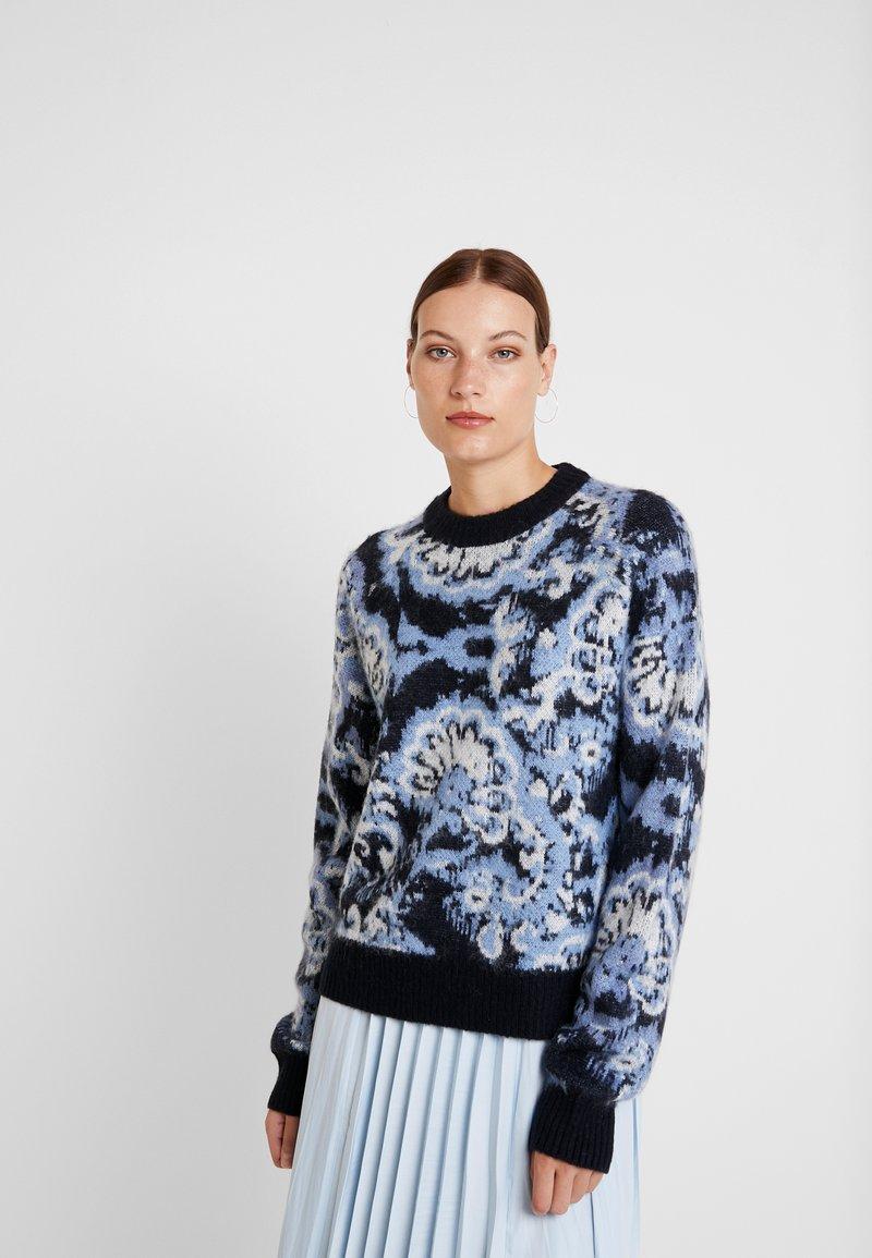 Carin Wester - JUMPER - Maglione - blue/black/white