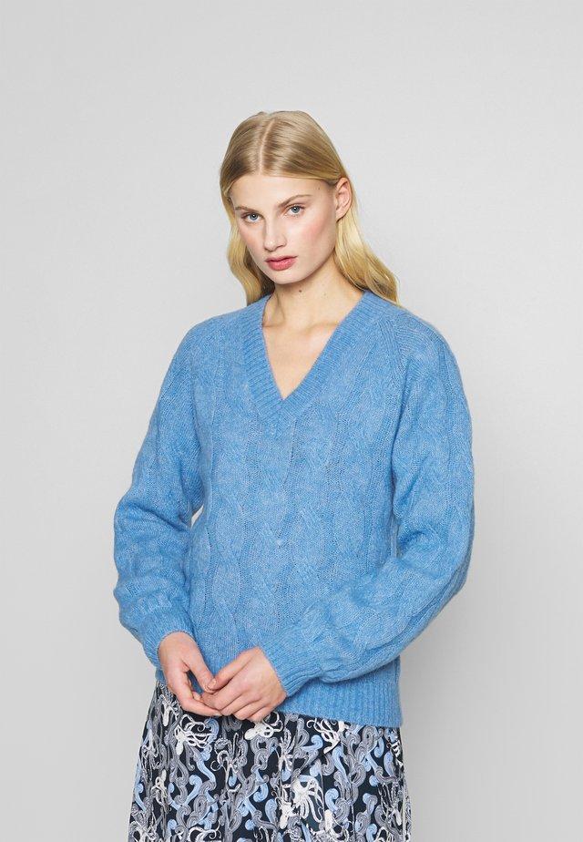 JUMPER VIKKI - Sweter - blue yonde