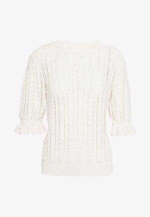 JUMPER VENNA - T-shirt con stampa - offwhite
