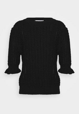 JUMPER VENNA - T-shirt imprimé - black