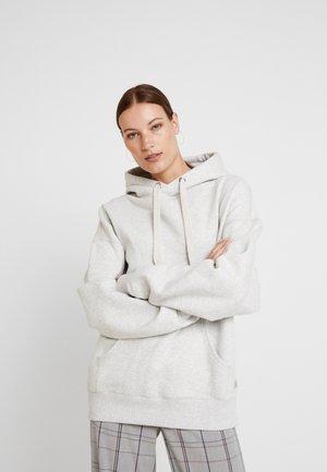 OVERSIZE HOODIE RAMIN - Bluza z kapturem - light grey