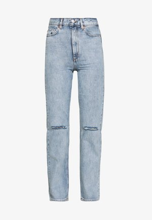 DEVIN TRASH - Jeans straight leg - light denim blue