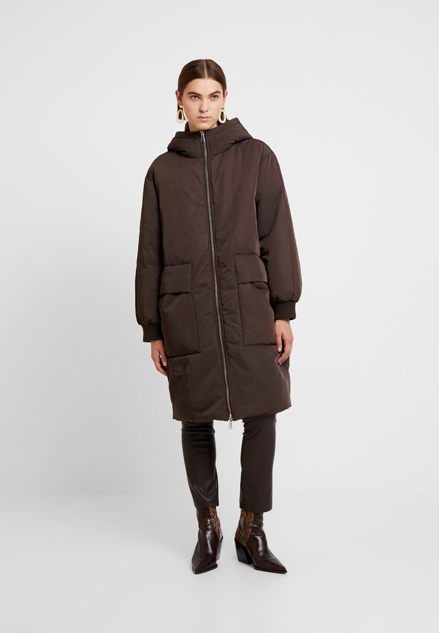 COAT ODETTE - Zimní kabát - brown