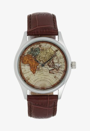 VINTAGE WORLD - Horloge - dark brown