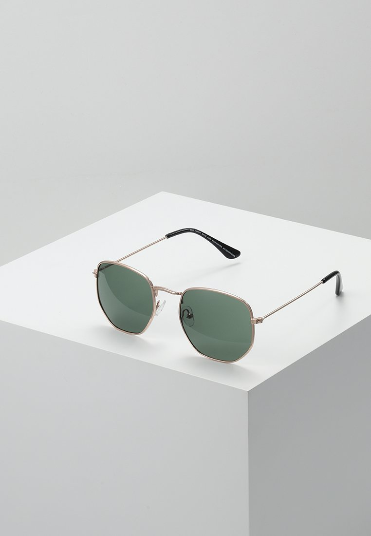 CHPO - IAN - Gafas de sol - gold-coloured/green