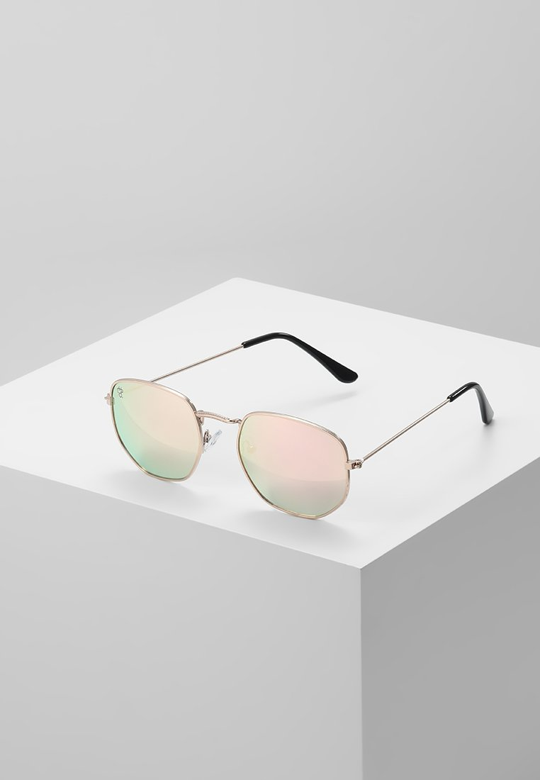 CHPO - IAN - Sunglasses - gold-coloured/pink mirror