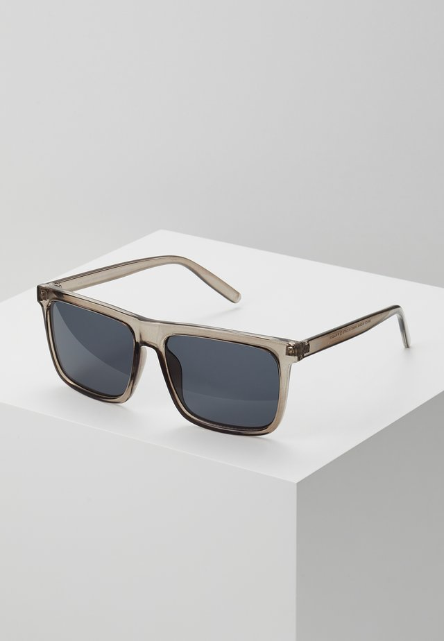 BRUCE - Sunglasses - grey-transparent /black