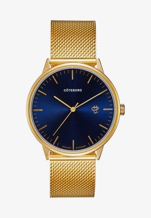NANDO GÖTEBORG - Watch - gold-coloured/navy