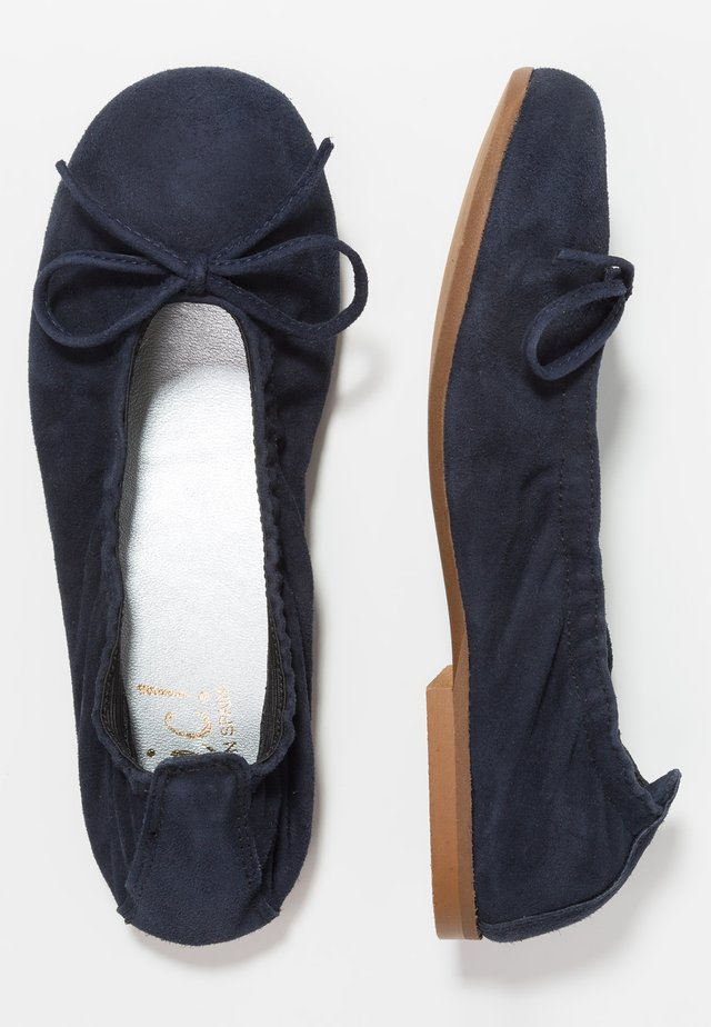 Ballet pumps - azul