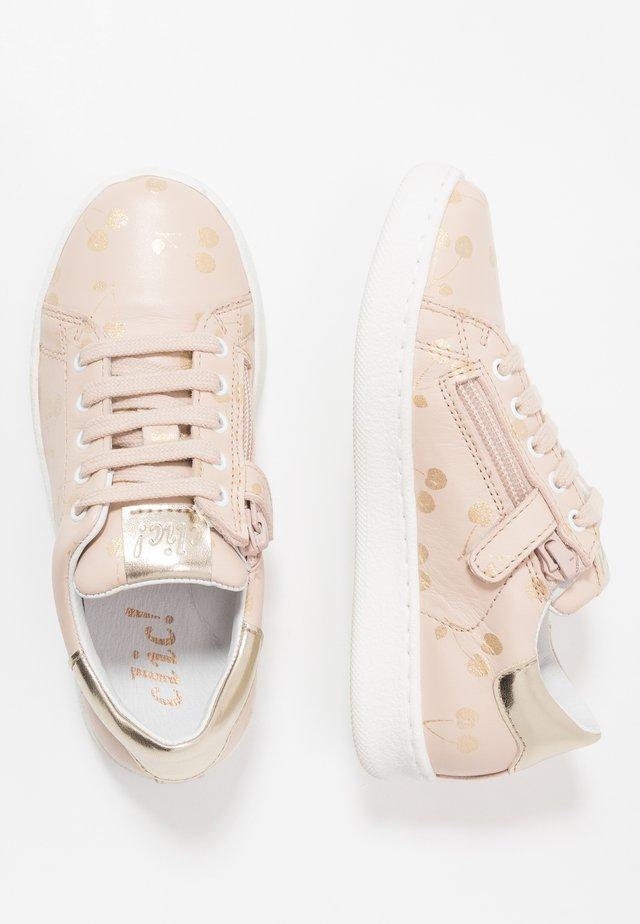 Sneakers - seta rosa palo/platino