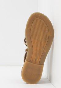 clic! - Sandaler - beig/basket cognac - 5