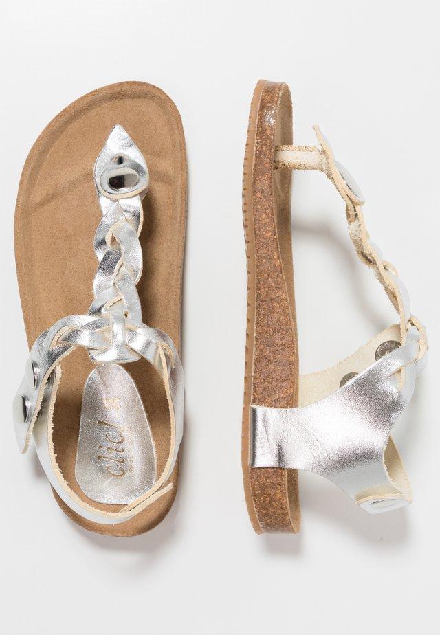 TABARCA - Sandaler m/ tåsplit - vemetal plata