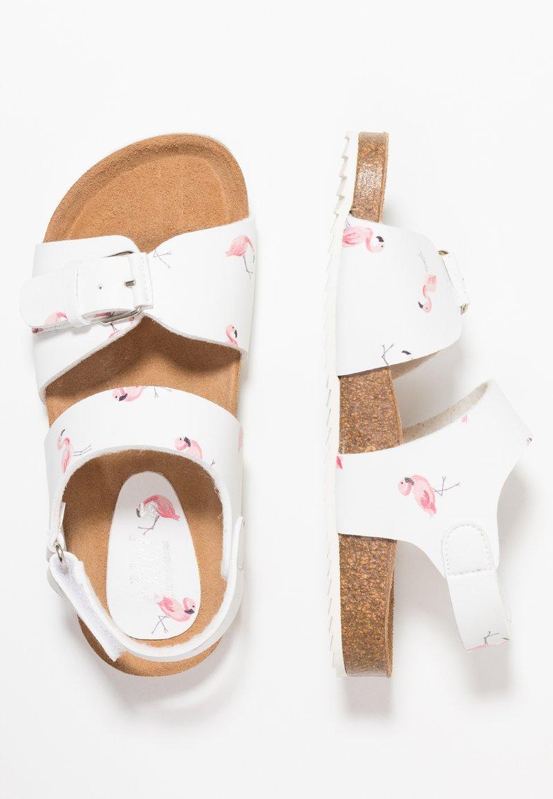 clic! - MILO - Sandals - blanco/pink