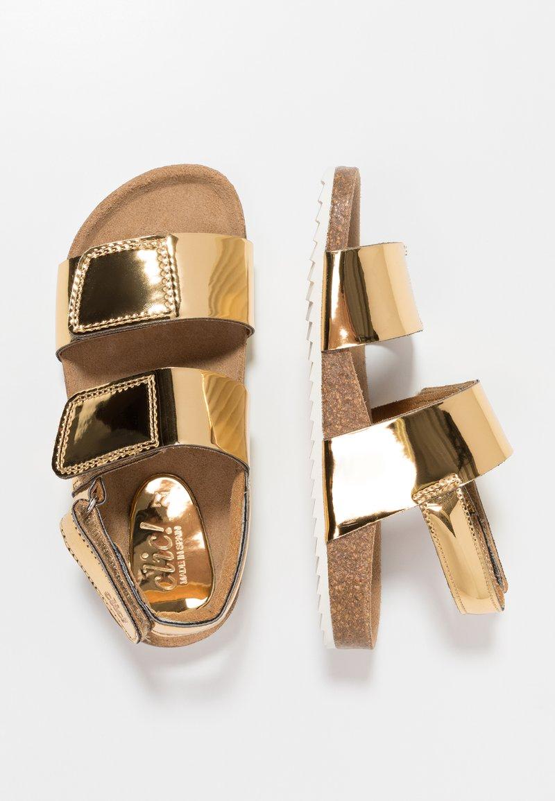 clic! - MALTA - Sandals - titanio platino