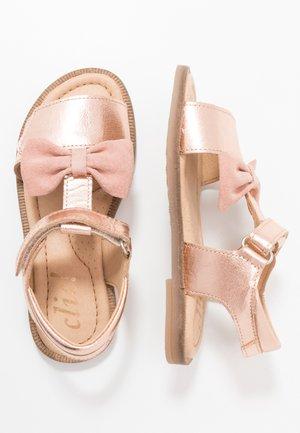 Sandaler - rose gold