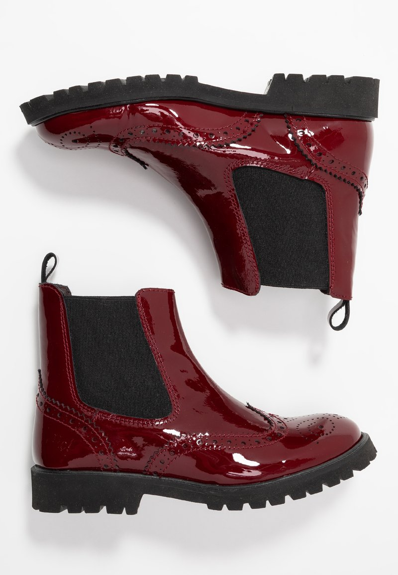 clic! - Classic ankle boots - charol guinda