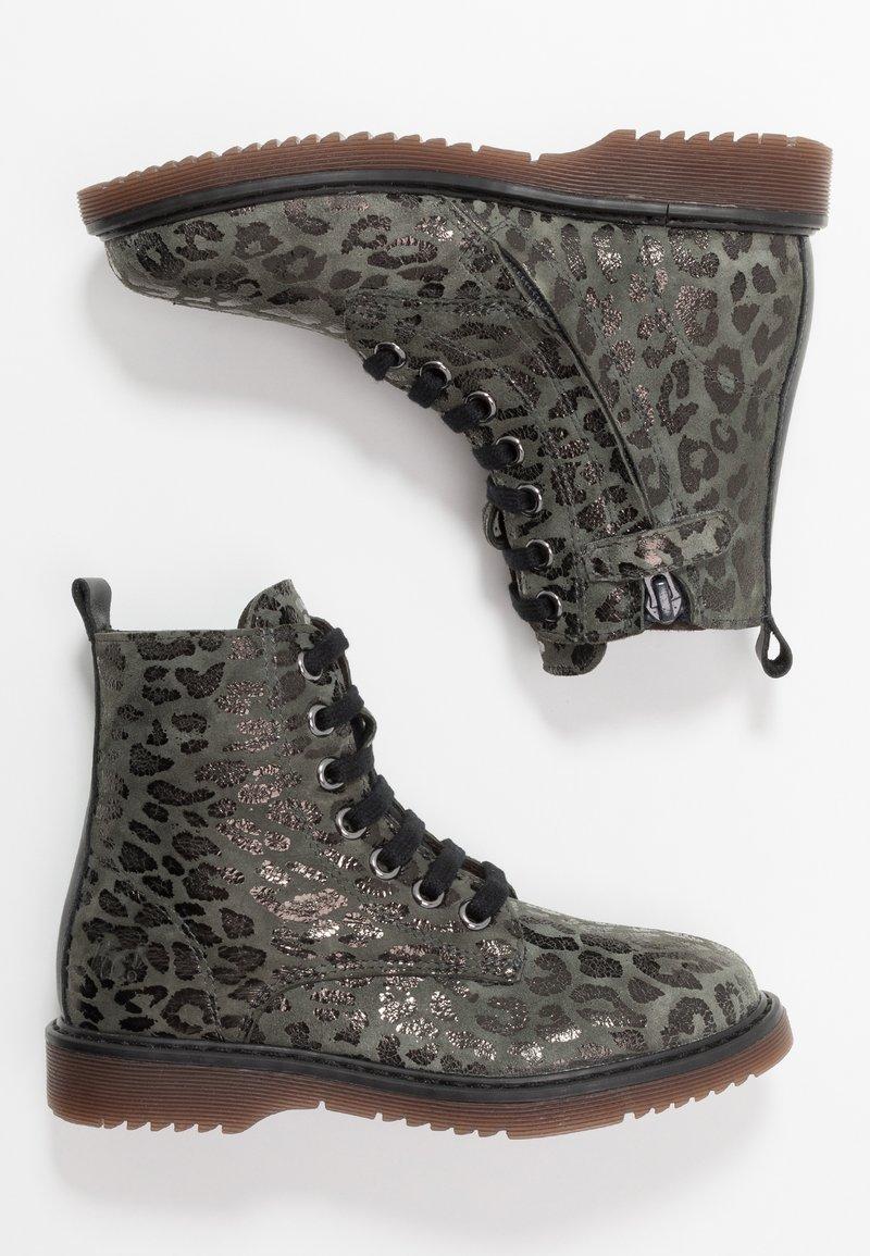 clic! - Šněrovací kotníkové boty - lajara montes