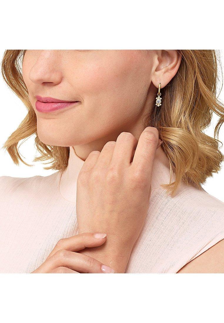 CHRIST - Earrings - gold-coloured