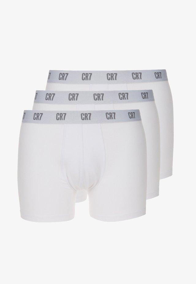 SEASONAL BASIC TRUNK 3 PACK - Pants - white