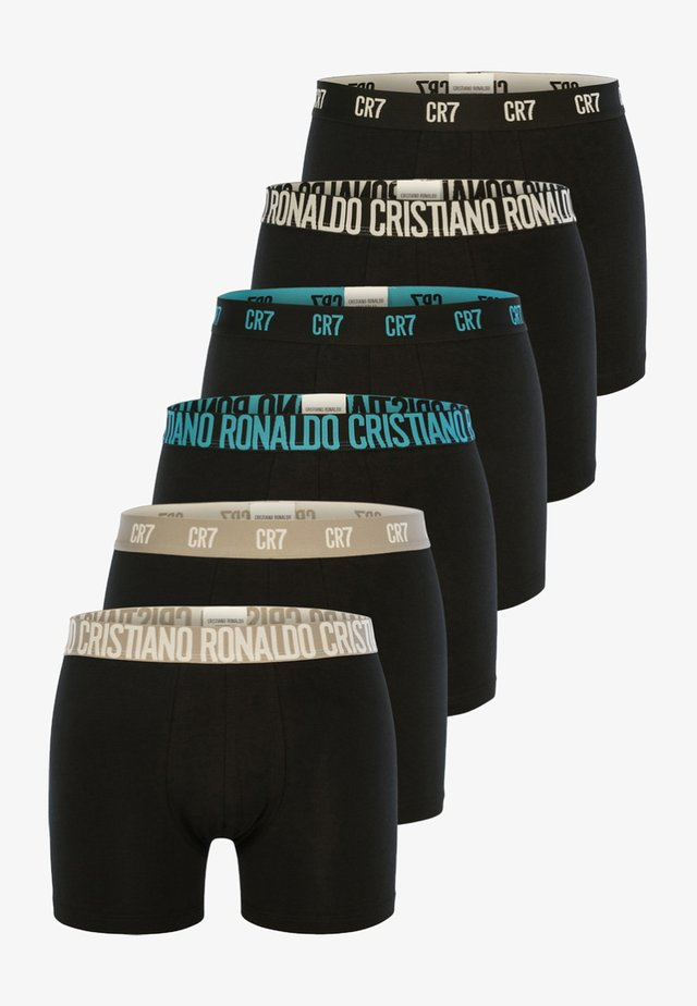 6 PACK TRUNKS - Underkläder - black