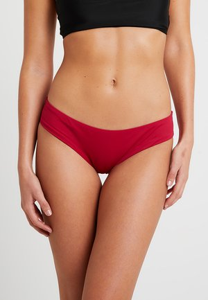 CITY SLICK SANGRIA HIPSTER - Bikini bottoms - bordeaux