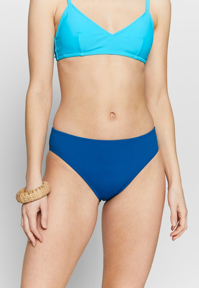 Bikinibukser - solid soft blue