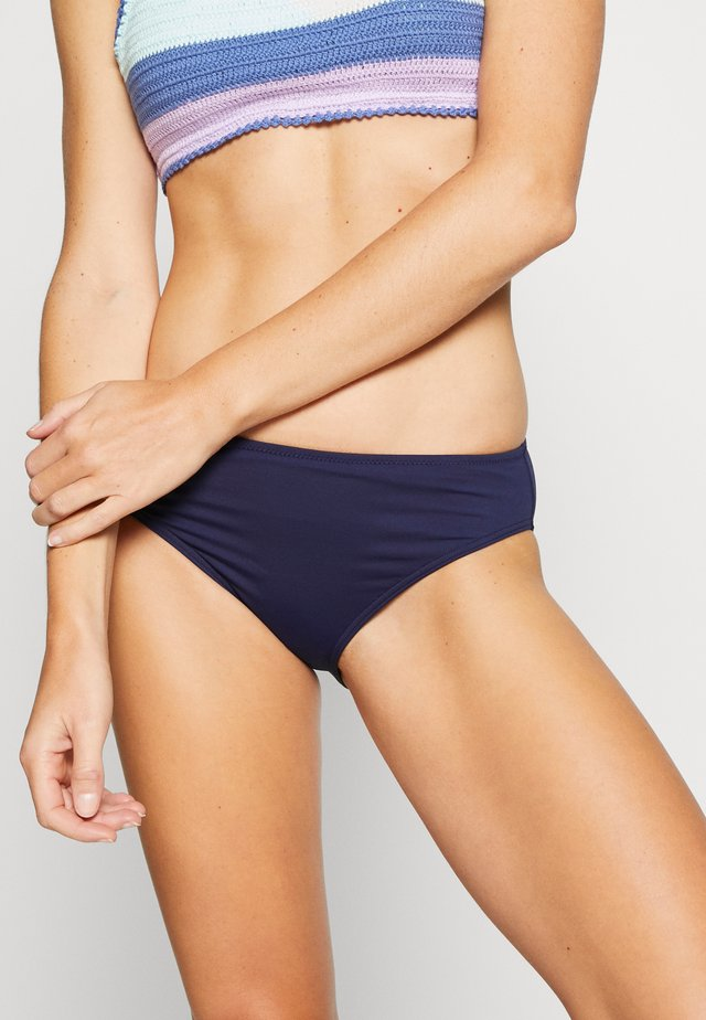 Bikini bottoms - solid navy