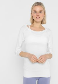 Curare Yogawear - Topper langermet - white - 0