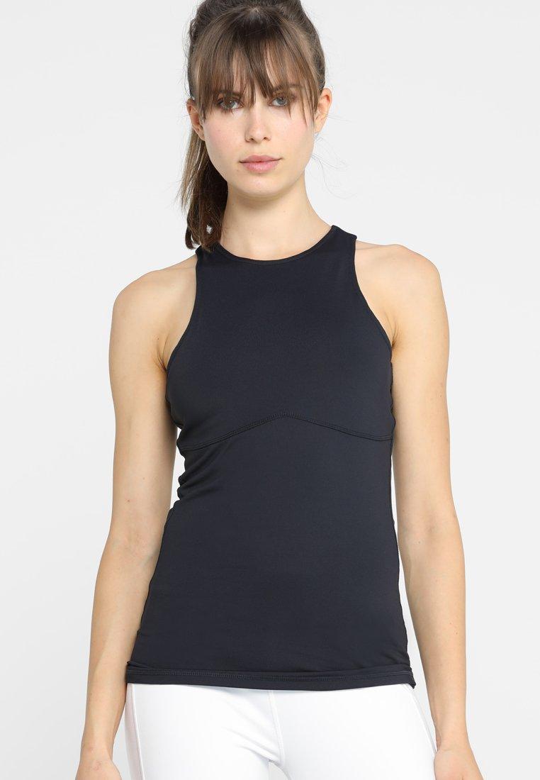 Curare Yogawear - RUNDHALS - Sports shirt - midnight blue
