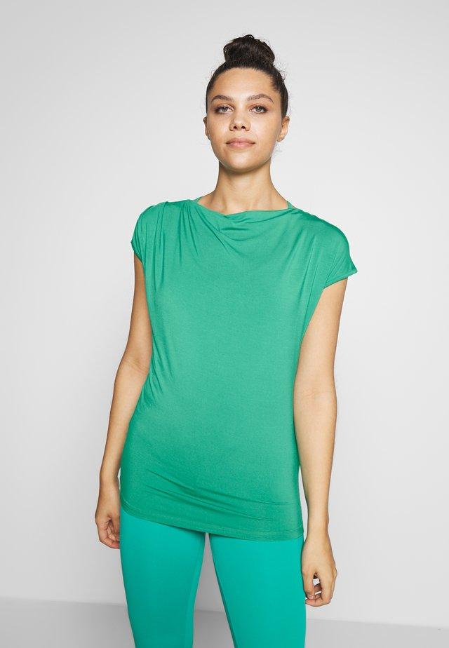 WASSERFALL - T-shirts basic - green lagoon
