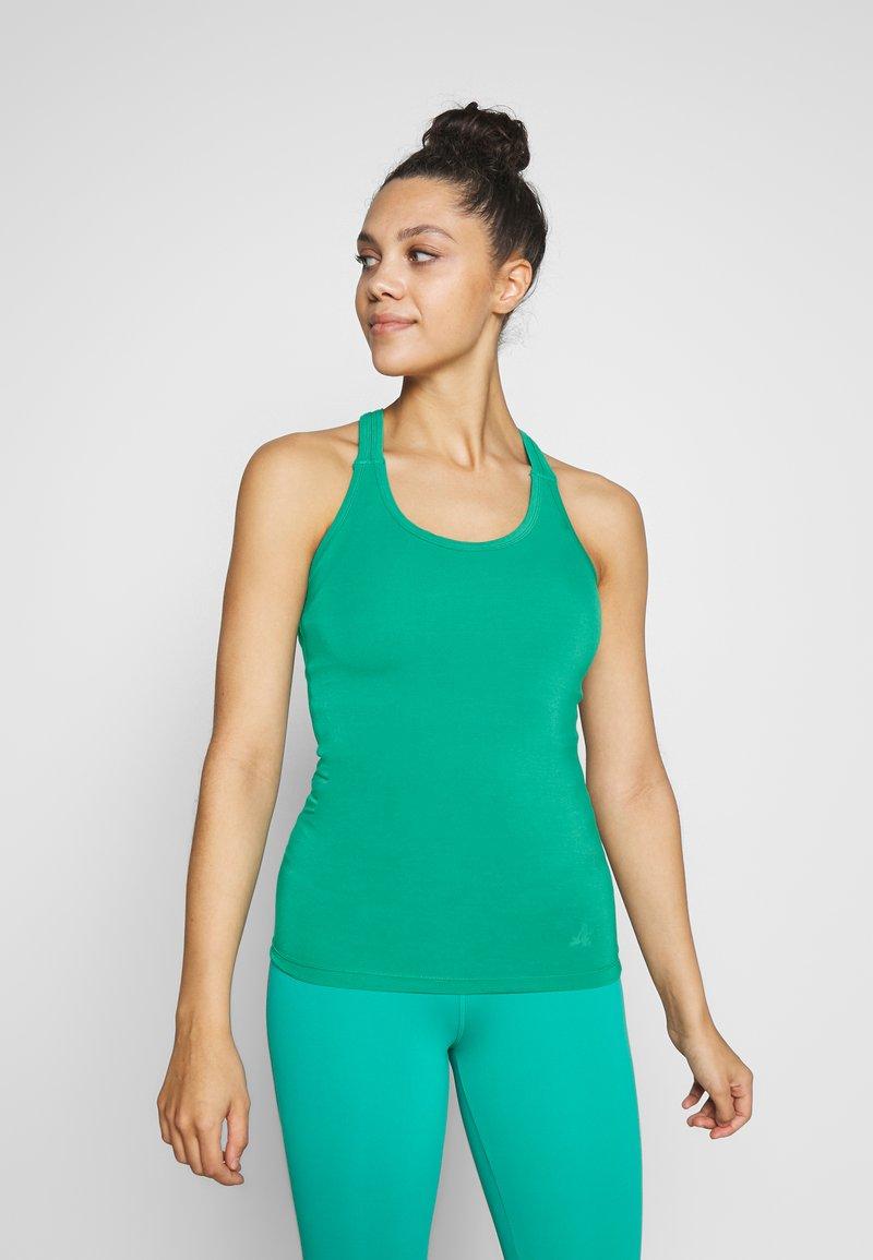 Curare Yogawear - RACERBACK  - Toppi - green lagoon