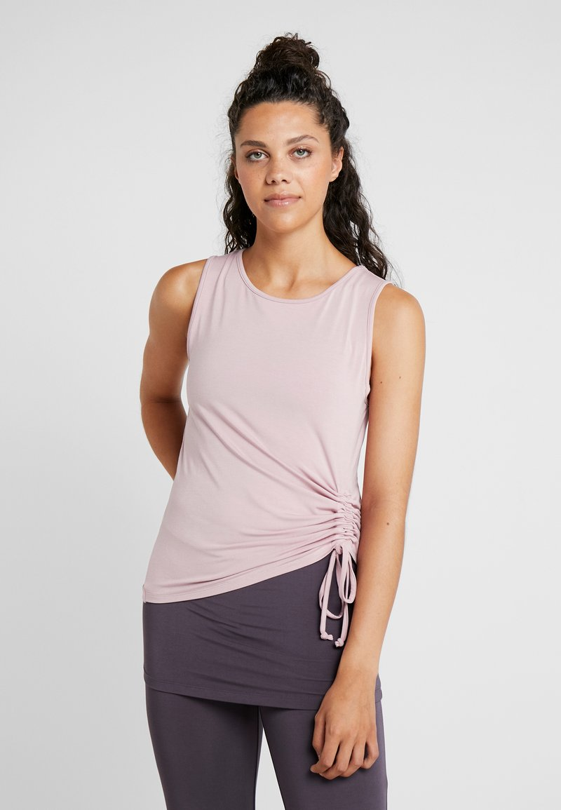 Curare Yogawear - TANK  - Toppe - rosewood