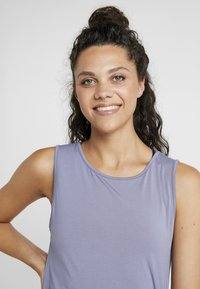Curare Yogawear - TANK  - Topper - french blue - 3