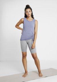 Curare Yogawear - TANK  - Topper - french blue - 1