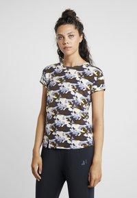 Curare Yogawear - SLIT - T-Shirt print - multi-coloured - 0