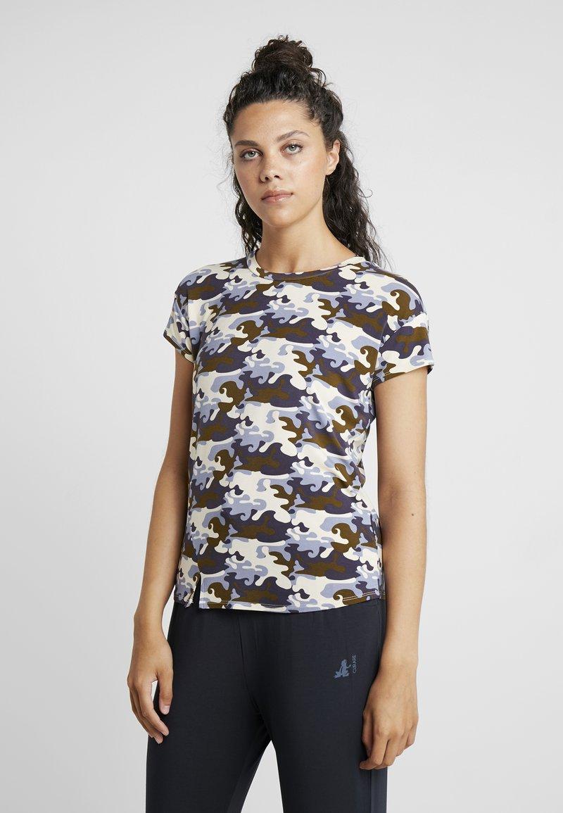 Curare Yogawear - SLIT - T-Shirt print - multi-coloured