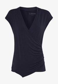 Curare Yogawear - T-shirt basic - midnight blue - 3