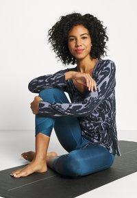 Curare Yogawear - WRAP BELT - Treningsjakke - marble - 1