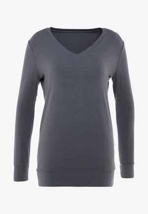 NEW V NECK  - Långärmad tröja - anthracite grey
