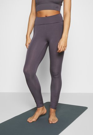 RUFFLED LEGGINGS - Legging - greyberry