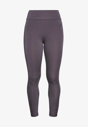 RUFFLED LEGGINGS - Trikoot - greyberry