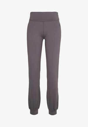 LONG PANTS ROLL DOWN - Tracksuit bottoms - purple