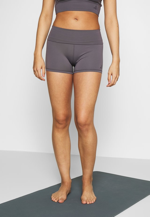ROLL DOWN SHORTS - Leggings - greyberry