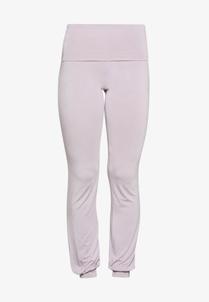 LONG PANTS ROLL DOWN - Tracksuit bottoms - puder