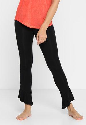 FANCY PANTS - Teplákové kalhoty - black