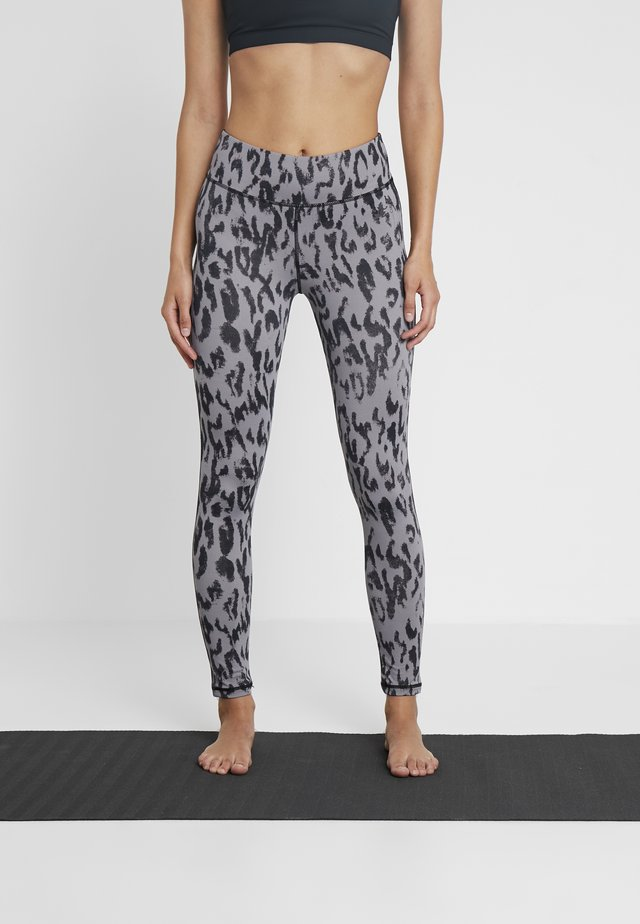 LEGGINGS HIGH WAIST - Leggings - grey