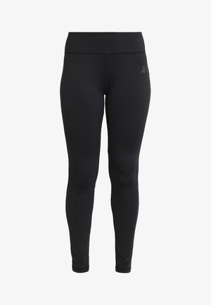 LEGGINGS HIGH WAIST - Tights - black