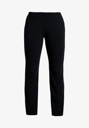 PANTS FLARED LEGS - Trainingsbroek - black