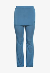 Curare Yogawear - PANTS SKIRT - Tracksuit bottoms - horizon blue - 3